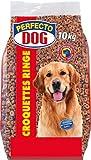 Perfecto Doc Croquettes Ringe 10kg Alleinfuttermittel für ausgewachsene Hunde Kroketten Trockenfutter