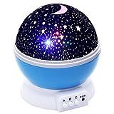 #10: Shag Rotation Star Sky Kid Luminous Light Lamp Night Projector Romantic Decoration