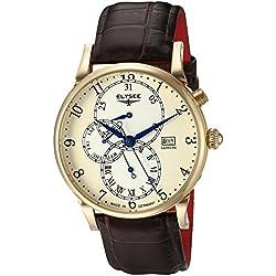 Chronograph DAIDALOS vergoldet - (80515)