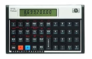 HP - F2231 - 12c Platinum Calculatrice financière Noir