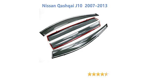 flecteur pour vitre de voiture anti-pluie anti-vent pour Qashqai 2008-2013