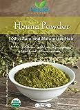 Henna Powder für Haar und Körper 100% Pure, stärkt, Glanz, Chemikalien, kommt mit zwei Rezepte, USDA Bio zertifiziert, koscher zertifiziert