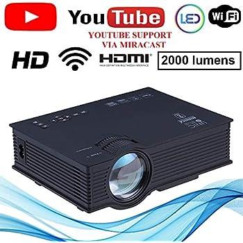 EGATE i9 LED HD Projector HD 1920 x 1080 - 120-inch: Amazon