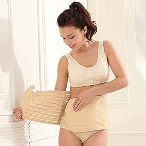 SiaMed Bauchweggürtel für Damen und Herren - Taillenformer - perfekte Abnehmhilfe für einen Straffen Bauch (beige, 85 cm) from SiaMed
