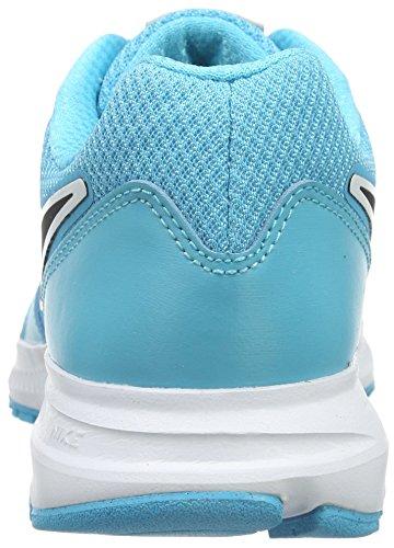 Nike Donna Wmns Downshifter 6 Scarpe da Ginnastica Basse Blu (Azul (Gamma Blue / Blck Mtllc Slvr Wht))