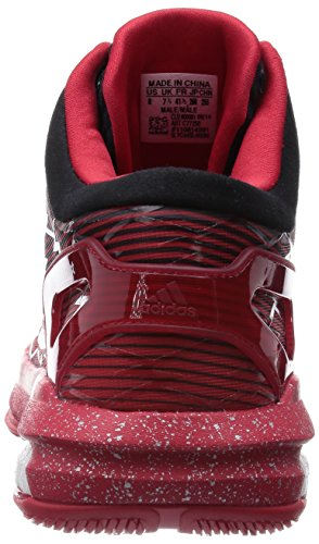 CRAZYLIGHT BOOST ROU - Chaussures Basketball Homme Adidas Rouge