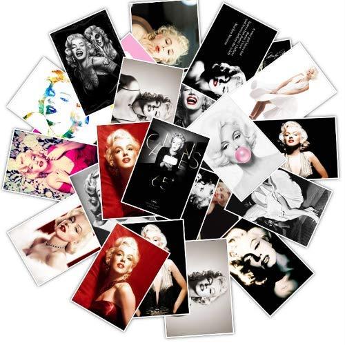 Berühmte Schauspielerin Marilyn Monroe Aufkleber Für Diy Gepäck Skateboard Laptop Aufkleber Gitarre Aufkleber Sexy Spielzeug Aufkleber 25 Stücke