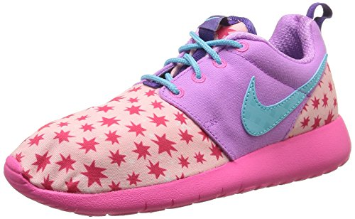 Nike Roshe One Print (Gs), Chaussures de course fille