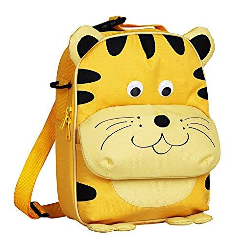 Babyhugs®-borsa per il pranzo, per bambini, con 3 vie-animal-zaino scuola materna, borsa termica per il pranzo giallo 3-way - nice tiger