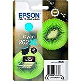 Cartouche d'encre Epson originale 202 XL cyan Amazon Dash Replenishment est prêt