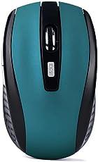 Kabellose Gaming-Maus für professionelle Gamer, 2,4GHz, Funkmaus, USB-Empfänger, für PC/ Laptop Einheitsgröße blau
