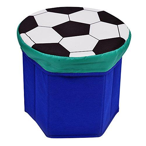 Niños caja de juguetes baúl de almacenamiento Caja