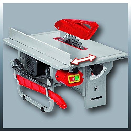 Einhell Tischkreissäge TC-TS 820 (800 W, Sägeblatt-Ø 200 mm, max. Schnitthöhe 45 mm, Tischgröße 500 x 335 mm) - 2