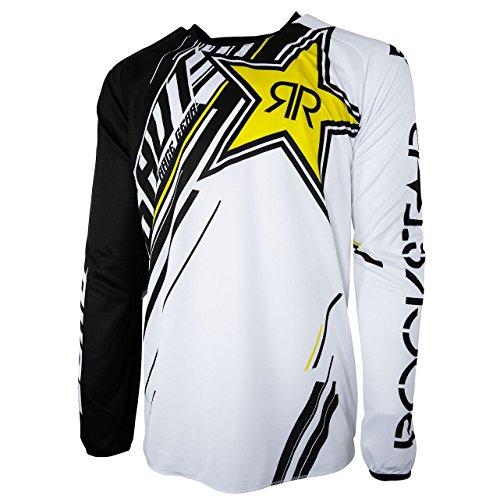 Shot 2017 Herren Motocross / MTB Jersey - ROCKSTAR - schwarz-gelb: Größe Jersey: S