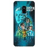 Todo Fundas para Samsung Galaxy Stranger Things Serie TV Netflix Eleven Lucas Mike Dustin Demogorgon Dibujos Carcasa Niños Gel (Samsung Galaxy S9 Plus, 6)