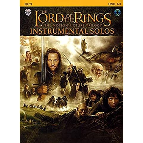 The Lord Of The Rings Instrumental Solos: Flute: Level 2-3