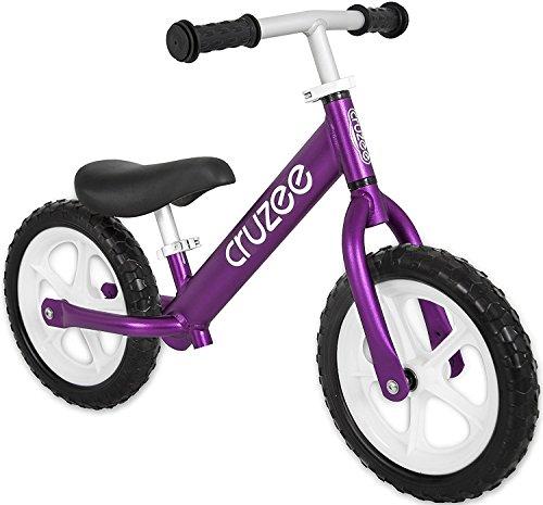 Preisvergleich Produktbild Cruzee PURPLE - UltraLeicht Laufrad (1,9 kg) fur kinder ab 1.5 bis 5 Jahre