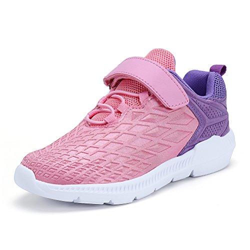 er Sportschuhe Fashion Seakers Breathable Leuchtschuhe Freizeitschuhe Jungen Outdoor Schuhe mit Multicolor(Pink,32) (2 Jungs-halloween Kostüme)