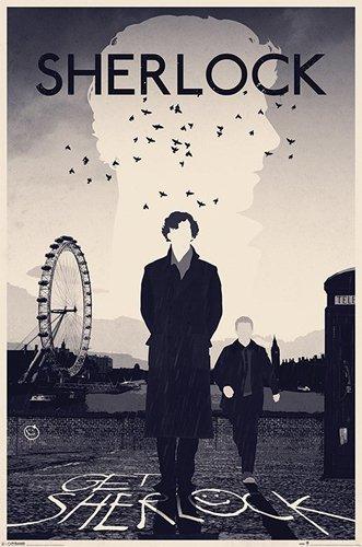 Sherlock Poster London + accessori