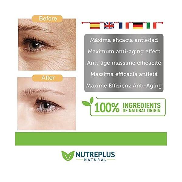 Contorno de Ojos Antiarrugas   Anti-edad para ojeras, bolsas, patas de gallo e hinchazón   Reduce líneas de expresión y arrugas   Crema contorno de ojos Mujer y Hombre   Efecto Anti-fatiga y Lifting