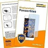 mumbi Panzerglas für iPhone 7 Panzerfolie Hartglas 9H Glasfolie