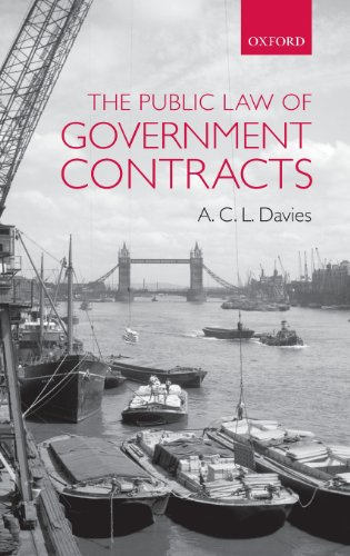 The Public Law of Government Contracts