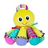 Lamaze Babyspielzeug Song-Krake mehrfarbig - hochwertiges Kleinkindspielzeug - vereint Kuscheltier & Greifling - fördert Tastsinn und Hörvermögen Ihres Kindes - ab 6 Monate