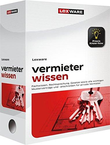 Lexware vermieter wissen plus Onlinezugang: Erfolgreich vermieten & Eigentum schützen (WRS Praxishandbuch)