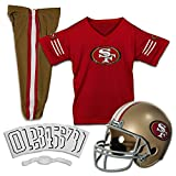 NFL San Francisco 49ers Deluxe Youth Uniform Set, Medium