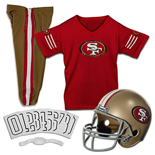 Nfl Kostüme (Franklin sports-nfl 49ers Uniform Fancy Dress Kostüm M Multicolore -)