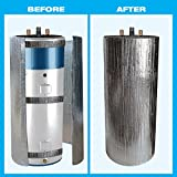 HOT WATER TANK HEATER INSULATION JACKET DIY 'PREMIUM' KIT: ENERGY SAVING REFLECTIVE FOIL