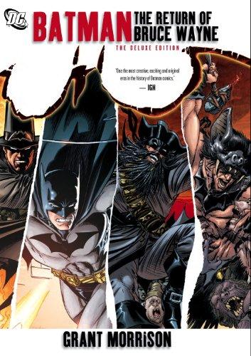 Book's Cover of Batman The Return of Bruce Wayne