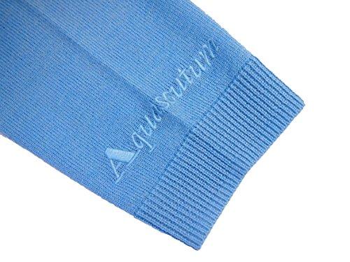 Aquascutum - Gilet - Femme S bleu azur