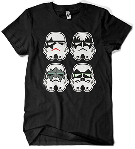 Camisetas La Colmena, A15-Star Wars - Kiss Stromtrooper
