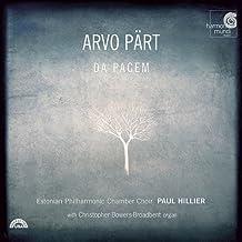 Arvo Pärt: Da Pacem [Hybrid SACD]