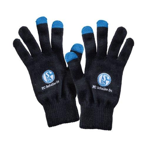 FC Schalke 04 Smartphone guantes, colour negro Negro negro Talla:small