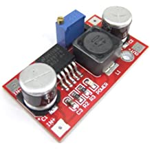 DROK® LM2577Regolatore di tensione Step Up da 3,5–30V a 4–30V DC, regolabile, trasformatore di corrente 5V/12V/24V.