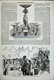 Huldigung 1859, die Zackige Schul-Westminster-Tee Bemannt