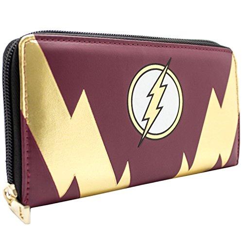 DC Comics Flash Goldblitzbolzen Rot Portemonnaie ()