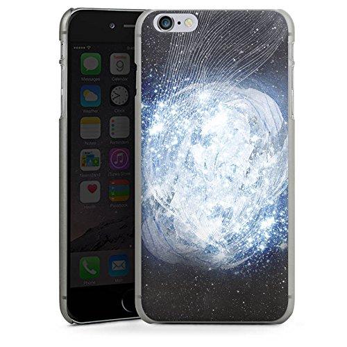 Apple iPhone 5s Housse Étui Protection Coque Univers Galaxie Galaxie CasDur anthracite clair