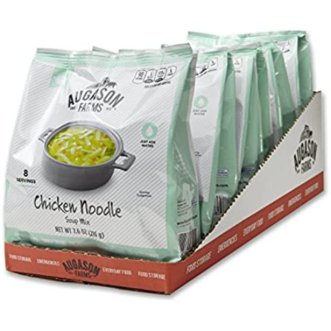 Augason Farms Instant Chicken Noodle Soup Mix Pantry Pouch by Augason Farms