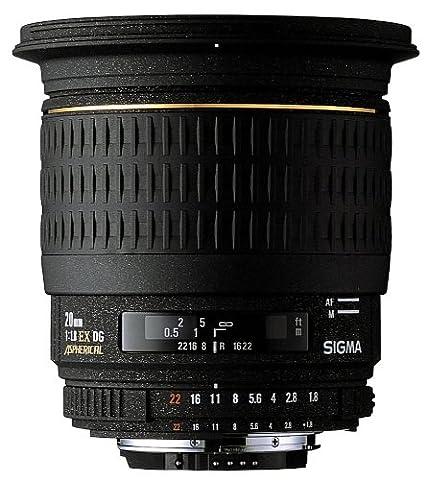 Sigma 20 mm F1,8 EX aspherical DG-Objektiv (82 mm Filtergewinde) für Pentax Objektivbajonett