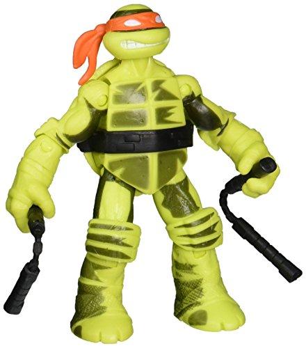 Turtles Schatten Ninja Mikey - Farbwechselfunktion - Teenage Mutant Ninja Turtles Figur - bewegliche Spielfigur