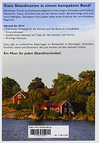 Skandinavien Reisehandbuch 2014: Alle Infos bei Amazon