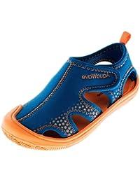 3da3312db89d AQUAWAVE Kinder Wasserschuhe für Mädchen und Jungen – mit Klettverschluss –  Idealer Schutz für Füße an Meer und Strand…