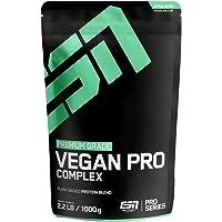 ESN Vegan Pro Complex Smooth Chocolate – Veganes Zwei-Komponenten Eiweißpulver aus hochwertigem Erbsen- und Reis-Protein…