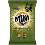 McVitie's Baked Mini Cheddars Branston Pickle Flavour Crisps 50g Case of 30