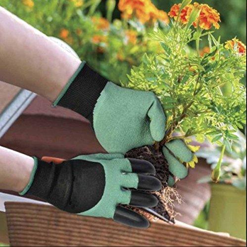Gants de jardinage 2 paires pour creuser et plantation for Meilleur site de jardinage