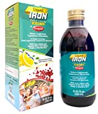 Ceregumil Liquid Iron Supplement for Anemia Vitamins w/ Methylcobalamin B12 - Folic Acid B6 Vitamins - with Fresh Lemon Taste energy Boosting Supplements High Potency Vitamin B 12 - 250 mL from Fernández & Canivell, S,A.