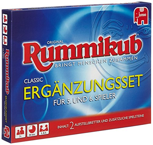 Jumbo Spiele 03458 - Set expansión Rummikub 5 6 jugadores